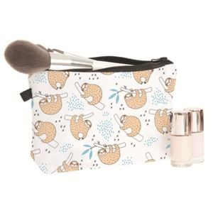 Handbags - LAST ONE Cute Sloth Hanging Out Makeup Zip Pouch